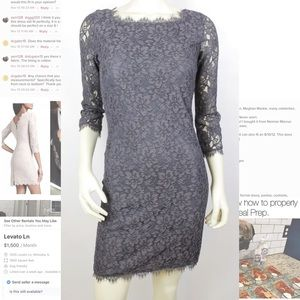 DVF Zarita Lace Dress (Signature Piece)